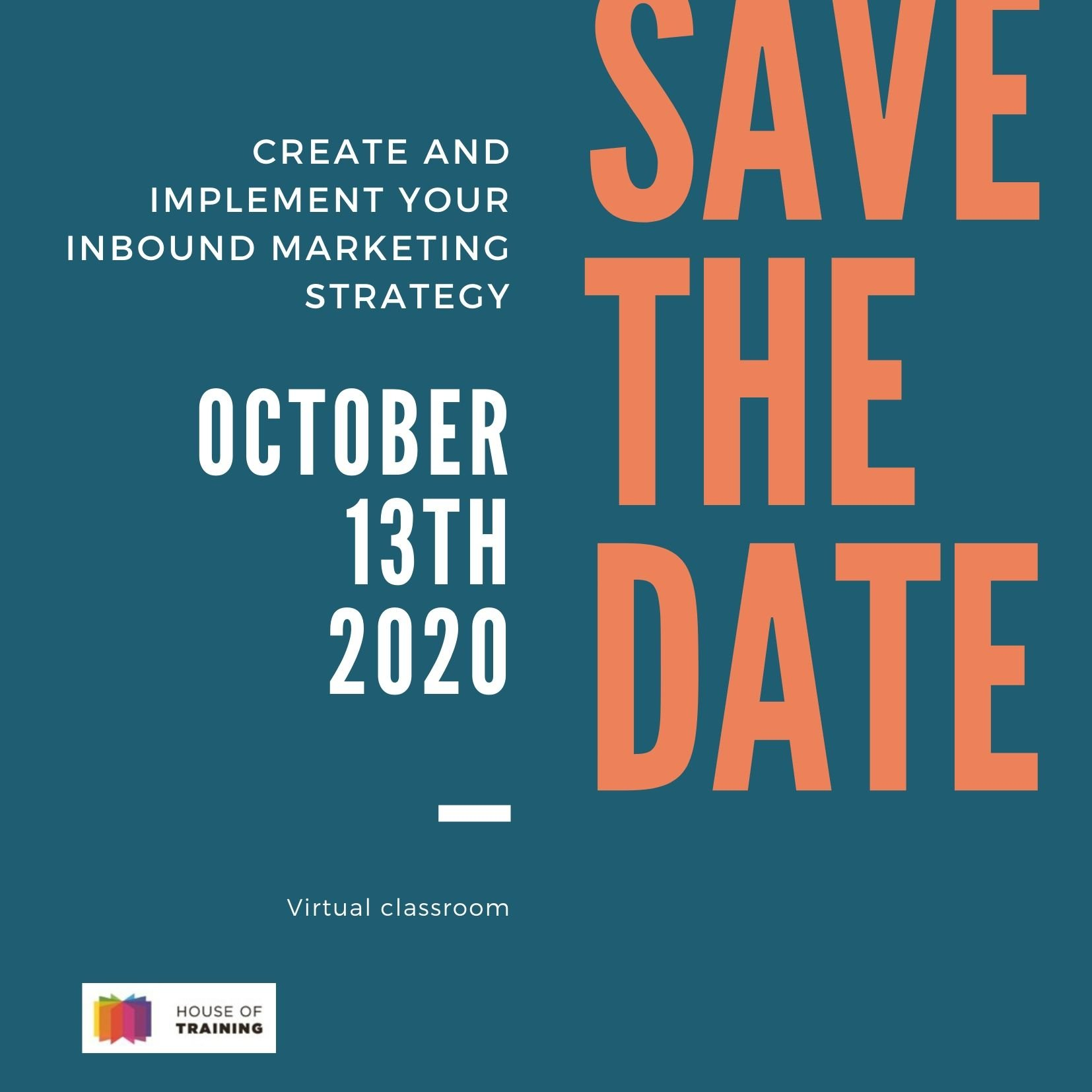 SAVE THE DATE – Inbound training